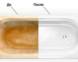 Как избавиться от ржавых потеков на ванной