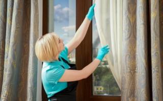 Как нужно стирать шторы (правила для разных типов тканей)