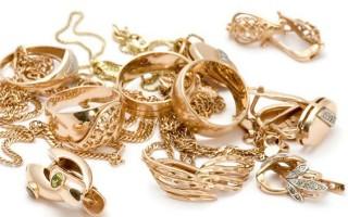 Уход за золотыми украшениями в домашних условиях