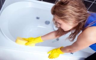 Уборка акриловой ванны: чистка и уход