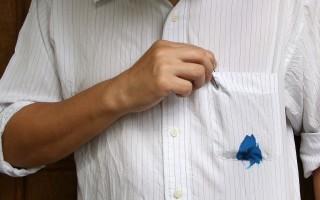 Как отмыть чернильные кляксы на одежде, мебели и других поверхностях