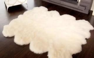Уход за овечьей шкурой: стирка и чистка