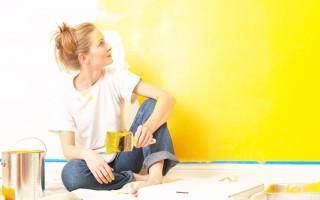 Устранение резкого запаха краски в помещениях