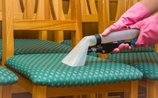 Как почистить стулья из ткани в домашних условиях