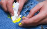 Как легко и просто отстирать одежду от разных типов краски