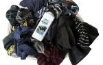 Как правильно стирать вещи черного цвета