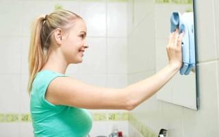 Как натереть зеркало до блеска без разводов