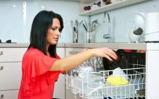 Устранение накипи и жира в посудомоечной машине