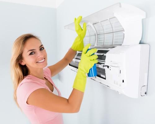 Чистка кондиционеров: как разобрать сплит-систему и средства для очистки