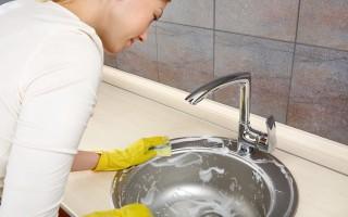 Как очистить раковину от известкового налета, ржавых пятен, жира, желтизны, потемнений и грязи?