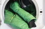 Как нужно стирать пуховик в стиральной машине чтобы не сбивался пух