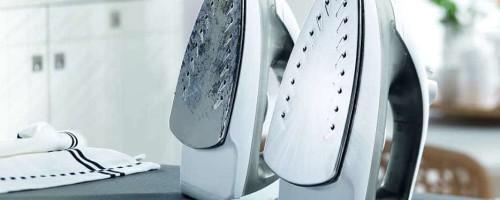 Уход за утюгом: устранение нагара и накипи