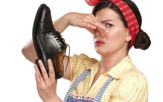 Устранение неприятного запаха ног и обуви