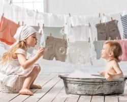 Способы стирки детских вещей