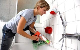 Можно ли отмыть силиконовый герметик