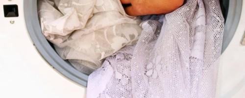Как нужно стирать белую тюль чтобы она стала белоснежной