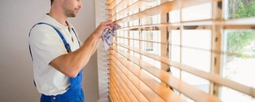 Чистка жалюзей в домашних условиях