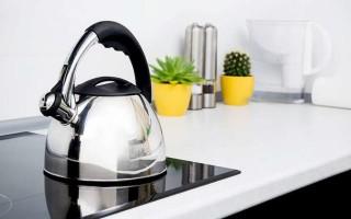 Устранение накипи в чайнике уксусом