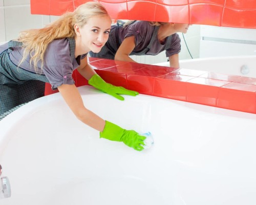 Как отмыть ванну от плесени, ржавчины и желтых пятен