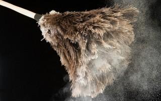 Как можно избавиться в помещении от пыли