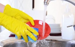 Полезные советы для быстрого мытья посуды