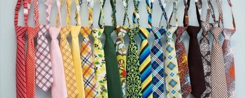Способы стирки мужского галстука в домашних условиях