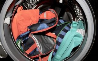 Какими способами можно постирать рюкзак