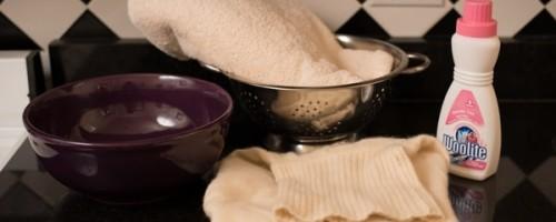 Как и чем правильно стирать одежду из кашемира