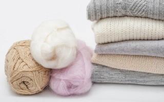 Как и чем стирать вещи из шерсти?