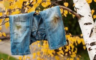 С помощью чего можно отстирать ржавчину на одежде