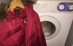 Как самостоятельно постирать синтепоновую куртку в стиральной машине
