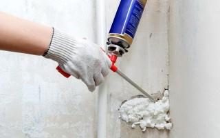 Как отмыть монтажную пену в домашних условиях