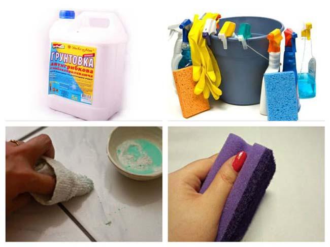 Как отмыть грунтовку с плитки