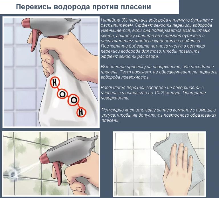 Способы устранения грибка