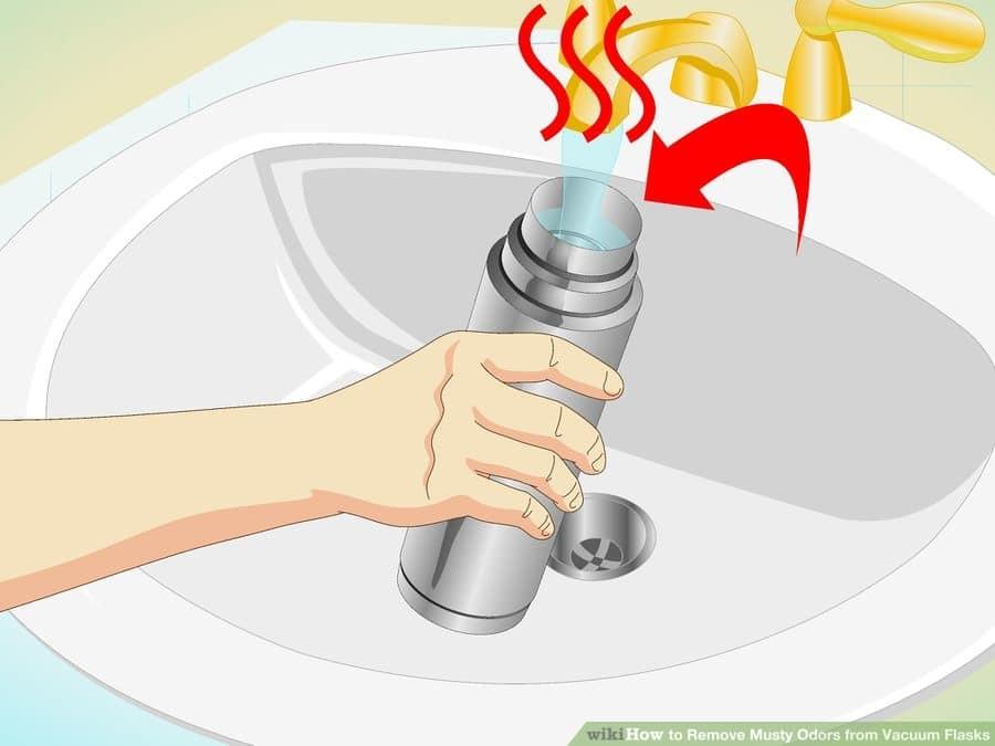Удаление запаха из термоса