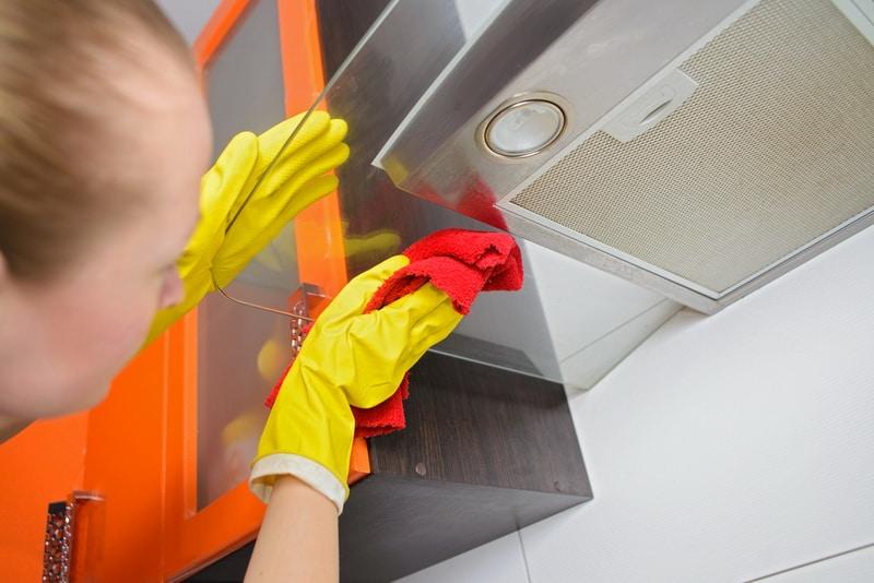 Как отмыть вытяжку от жира в домашних условиях