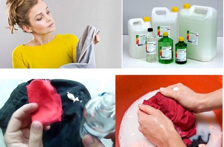 Чем отмыть пену с одежды