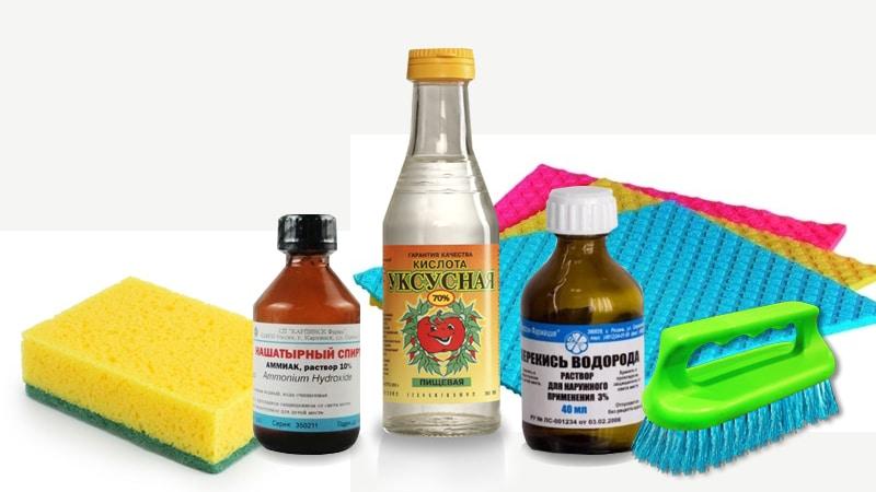 Средства для мытья хрусталя