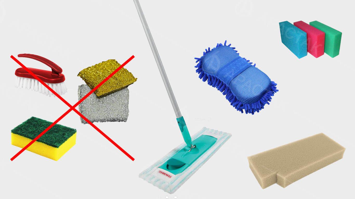 Чем можно мыть натяжной потолок