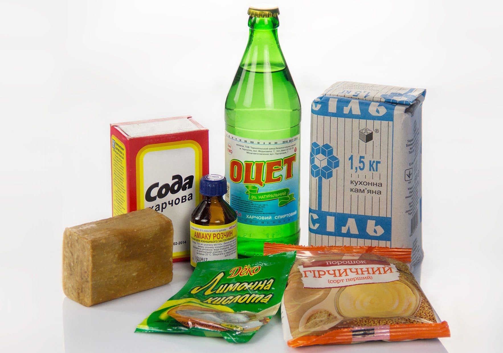 Народные средства очистки плиты от жира и нагара