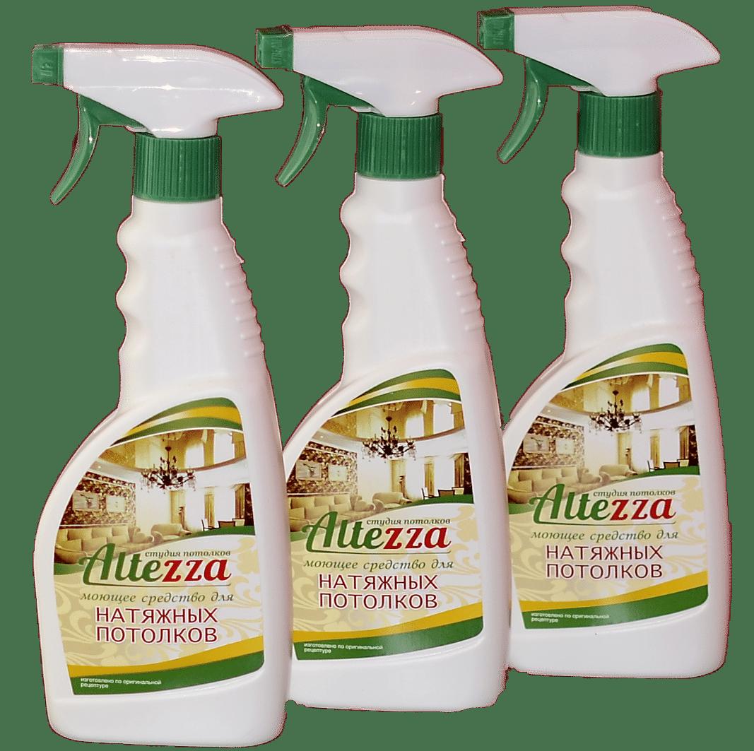 Средство для мытья натяжного потолка