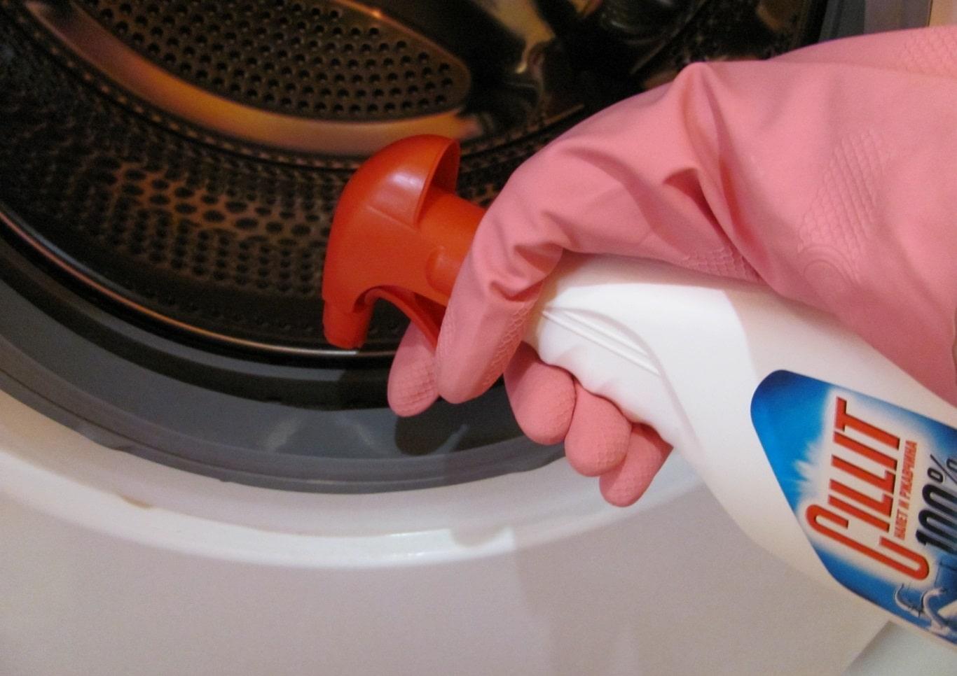 Как почистить стиральную машину Силитом