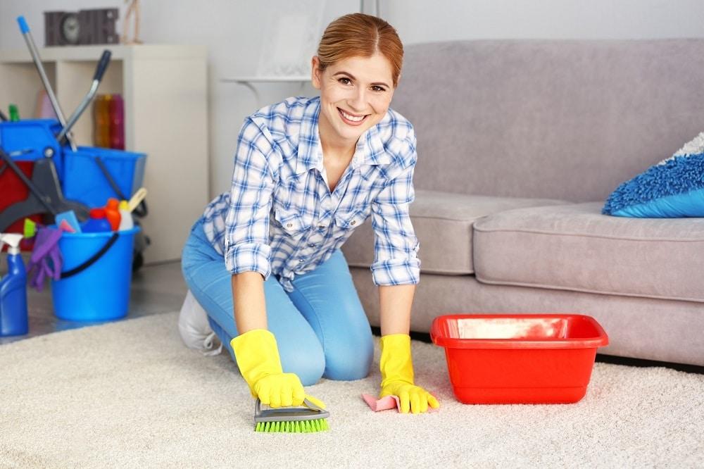 Как почистить ковер в домашних условиях быстро и эффективно