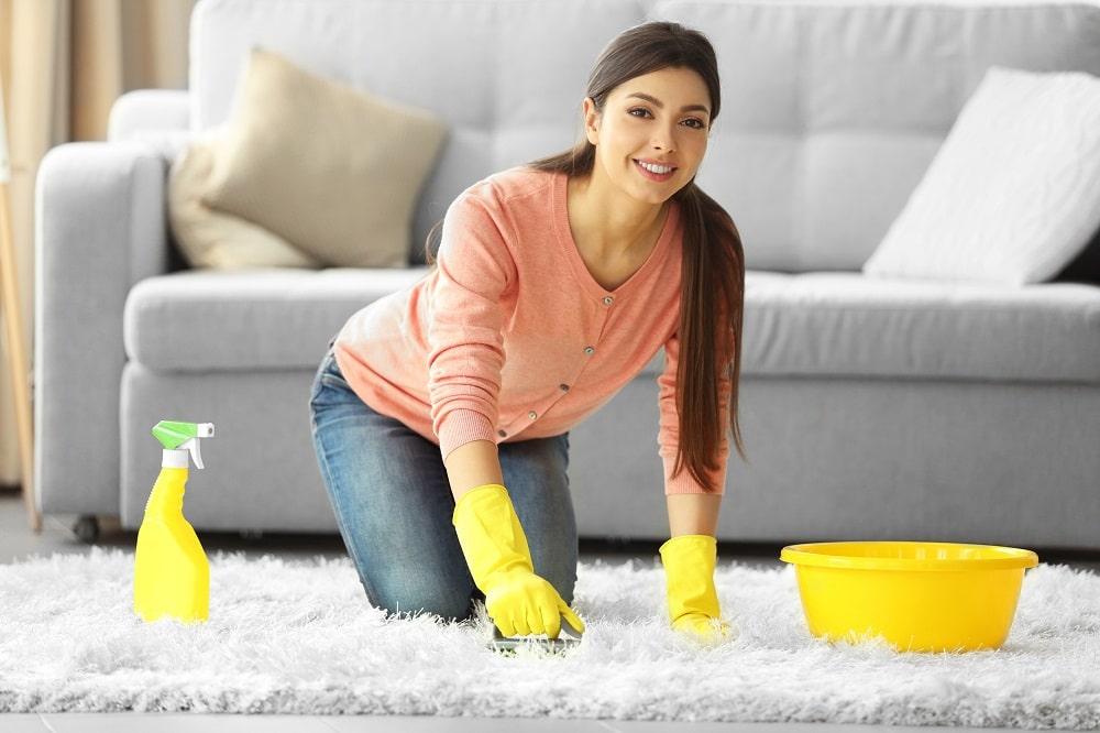 Как почистить палас в домашних условиях быстро и эффективно