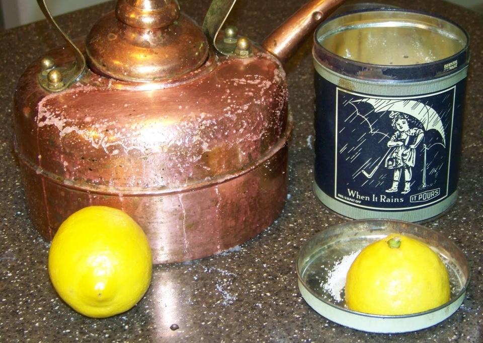 Как очистить ржавчину с металла лимоном