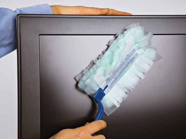 Как почистить экран ЖК телевизора