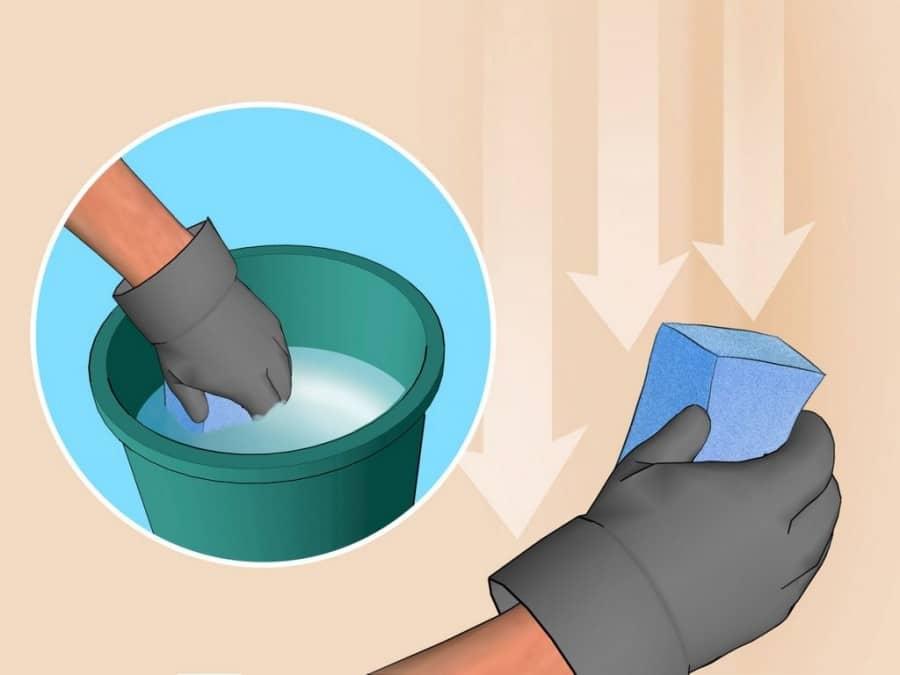 Как моются обои