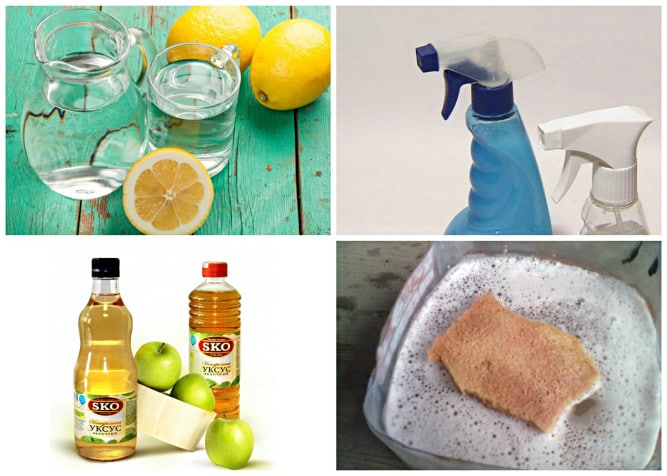 Как помыть плитку народными средствами