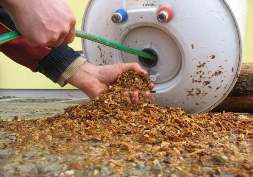 Как почистить бойлер от накипи
