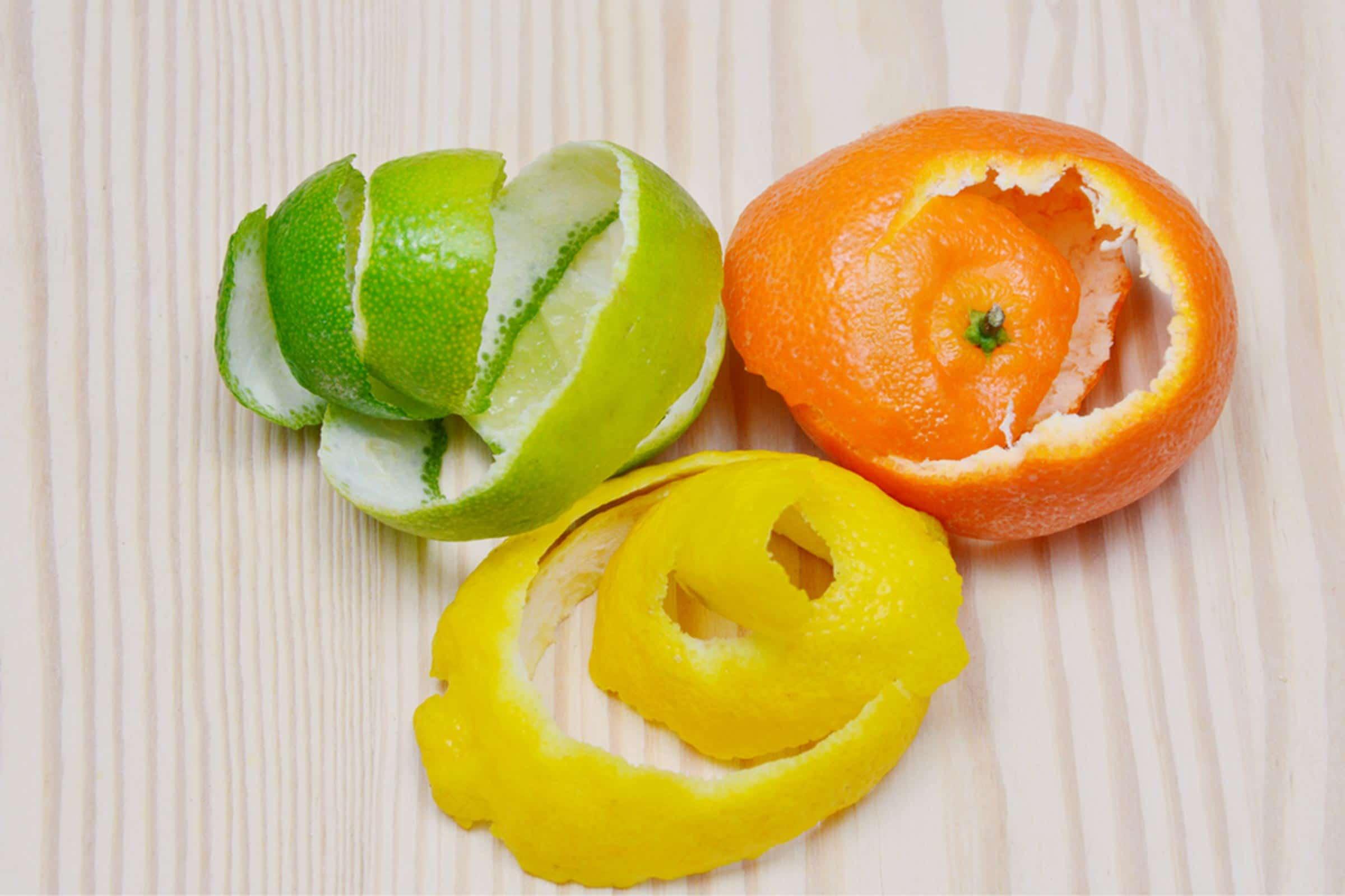 Кожура фруктов избавит от запаха гари